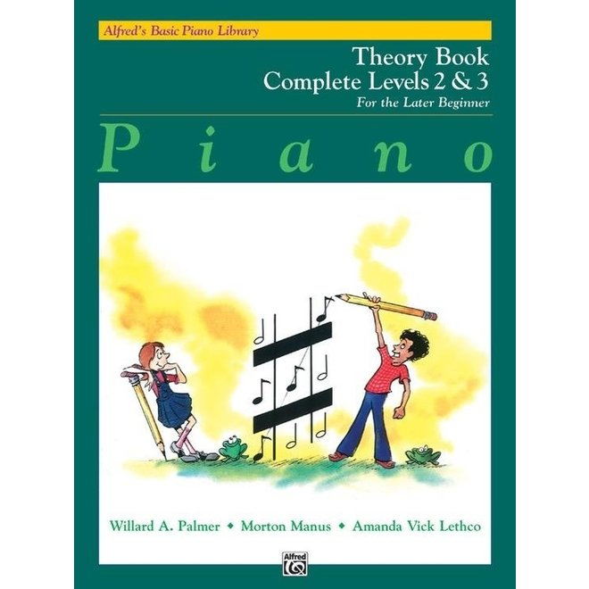 Alfred's - Basic Piano Course: Theory Book Complete (2 & 3)