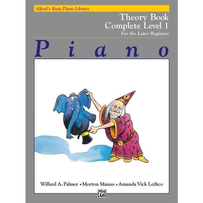 Alfred's - Basic Piano Course: Theory Book Complete 1 (1A/1B)