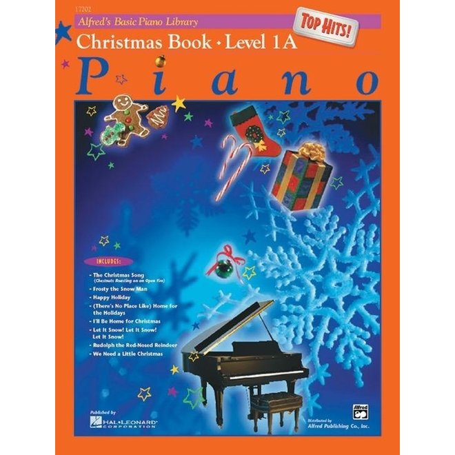 Alfred's - Basic Piano Course: Top Hits Christmas, Book 1A