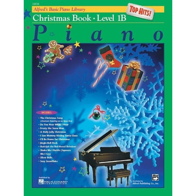 Alfred's - Basic Piano Course: Top Hits Christmas, Book 1B