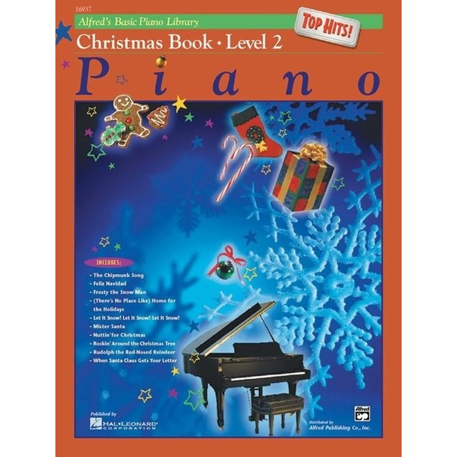 Alfred's - Basic Piano Course: Top Hits Christmas, Book 2