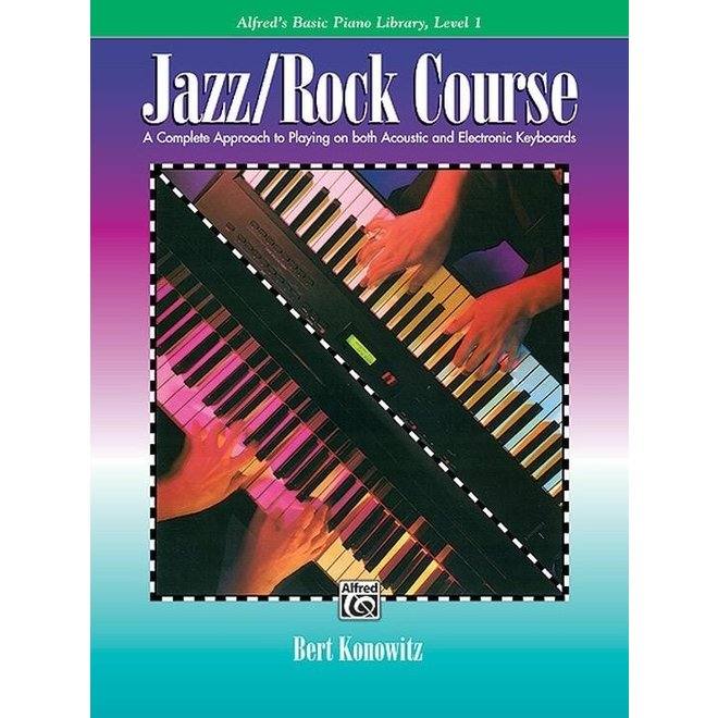 Alfred's - Basic Piano Library:   Jazz/Rock Course, Level 1