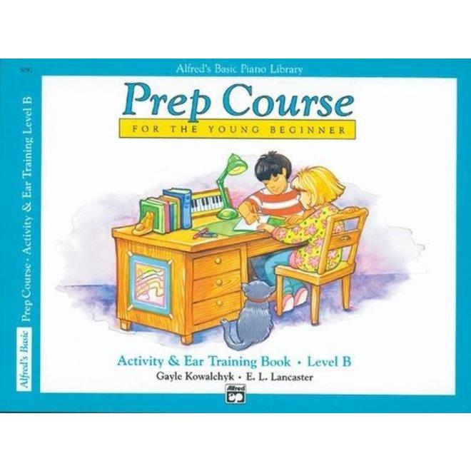 Alfred's - Basic Piano Prep Course: Acivity & Ear Training B