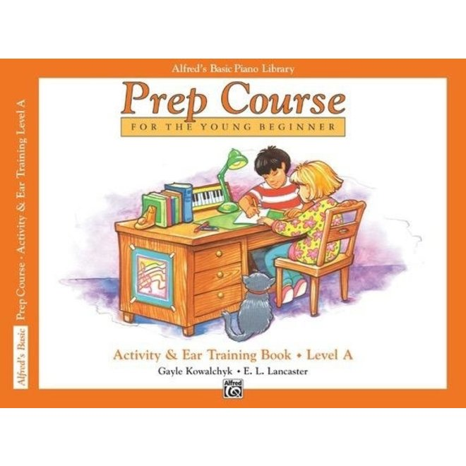 Alfred's - Basic Piano Prep Course: Activity & Ear Training Book A