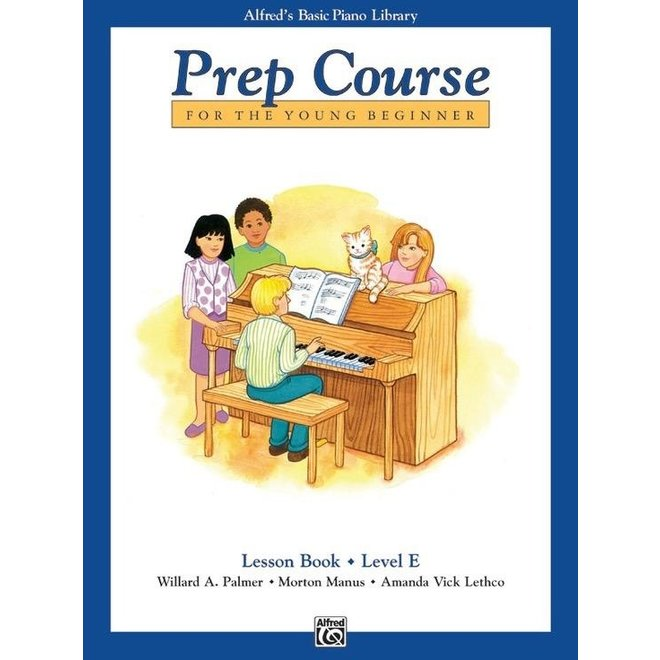 Alfred's - Basic Piano Prep Course: Lesson Book E