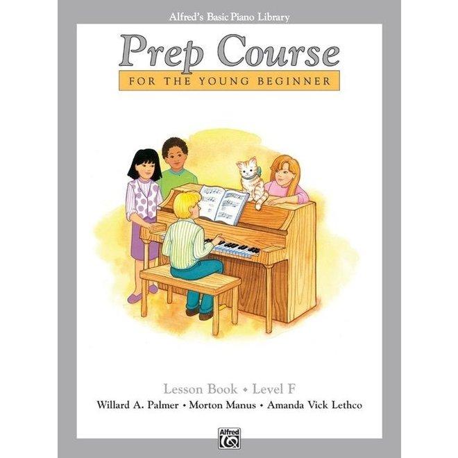 Alfred's - Basic Piano Prep Course: Lesson Book F