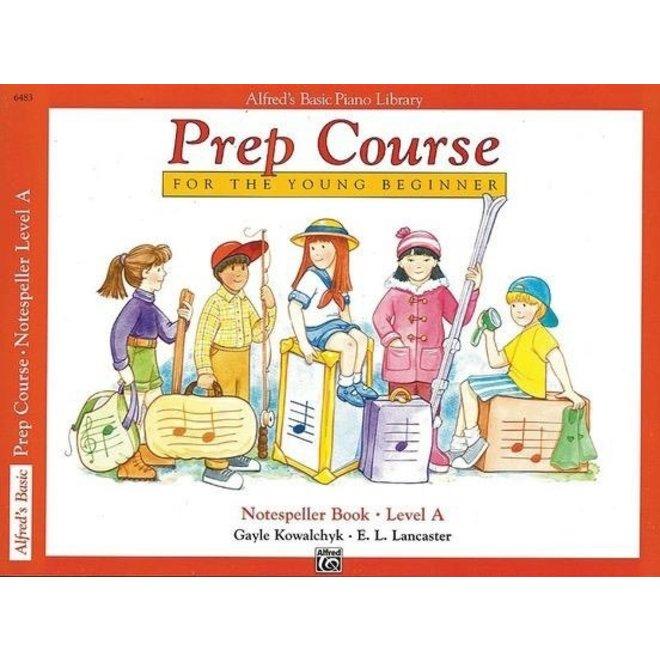 Alfred's - Basic Piano Prep Course: Notespeller Book A