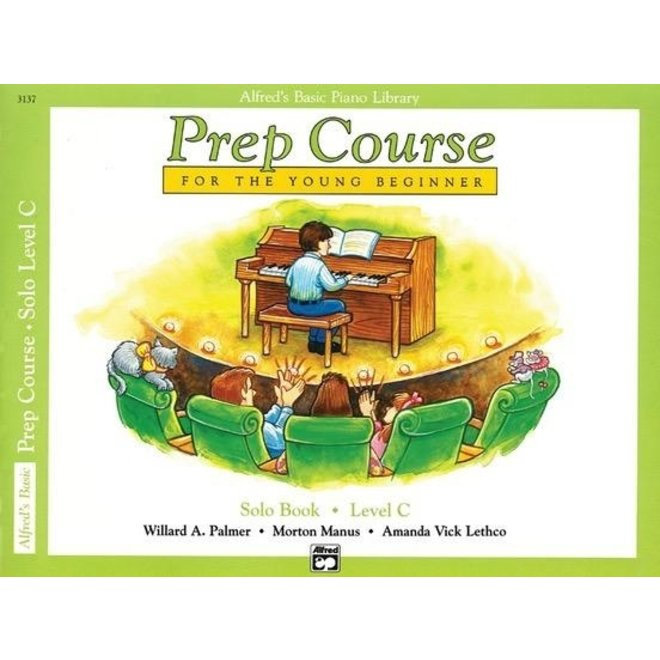 Alfred's - Basic Piano Prep Course: Solo Level C