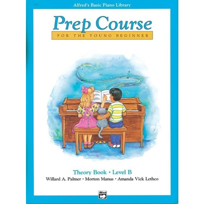 Alfred's - Basic Piano Prep Course: Theory Book B