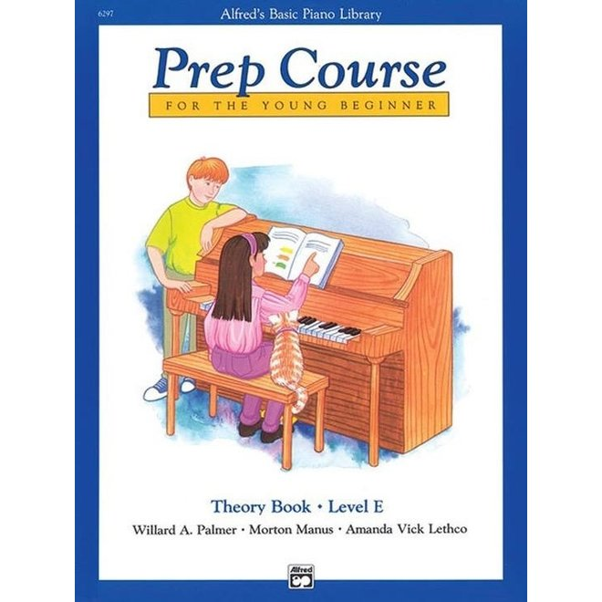 Alfred's - Basic Piano Prep Course: Theory Book E