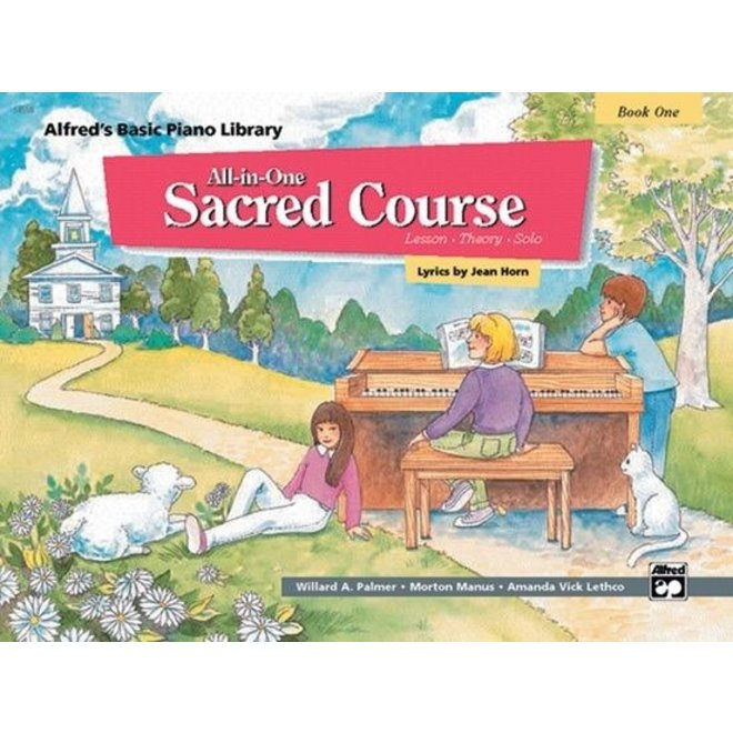 Alfred's - Basic All-in-One Sacred Course for Children, Book 1