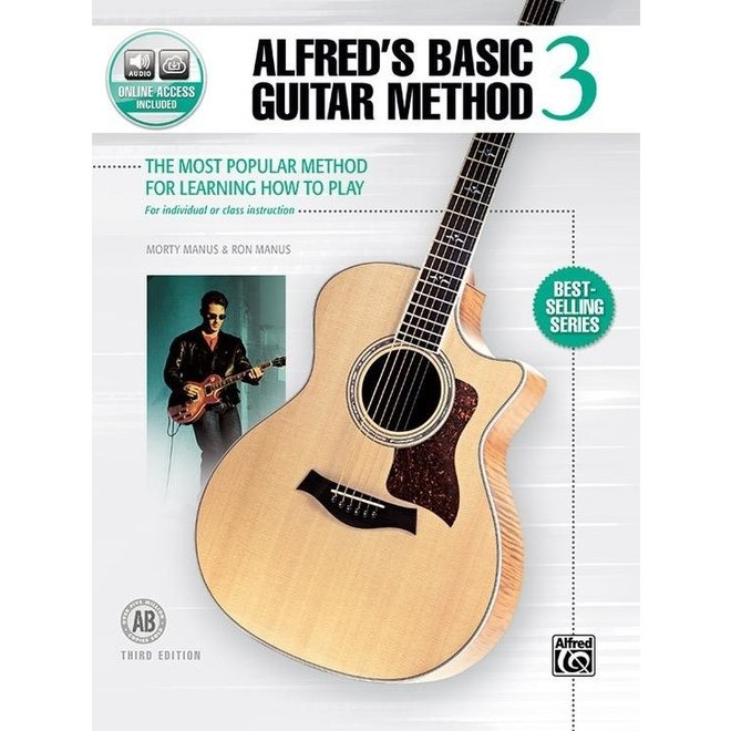 Alfred's - Basic Guitar Method, Book 3