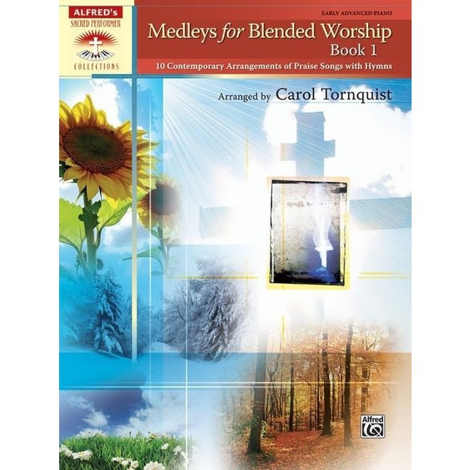Alfred's - Sacred Performer, Medleys for Blended Worship, Book 1, Early Advanced
