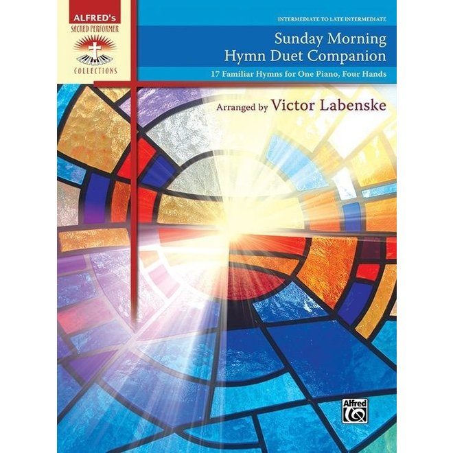 Alfred's - Sacred Performer, Sunday Morning Hymn Duet Companion, Intermediate/Late Intermediate