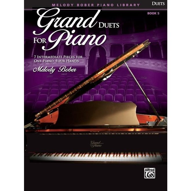 Alfred's - Grand Duets for Piano, Book 5