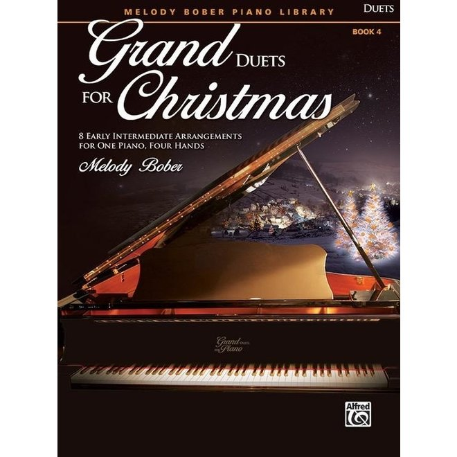 Alfred's - Grand Duets for Christmas, Book 4