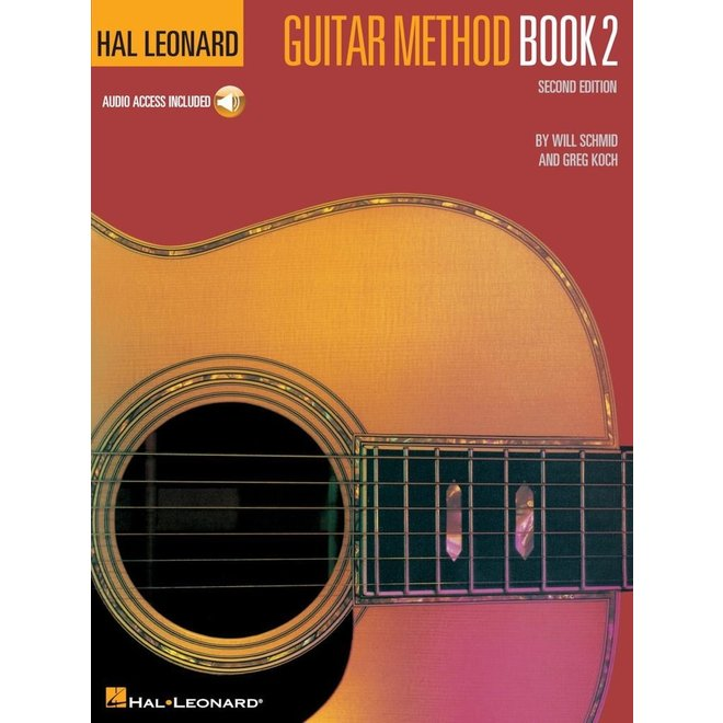 Hal Leonard - Guitar Method, Book 2, w/Online Audio Access