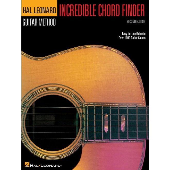 Hal Leonard - Guitar Method, Incredible Chord Finder