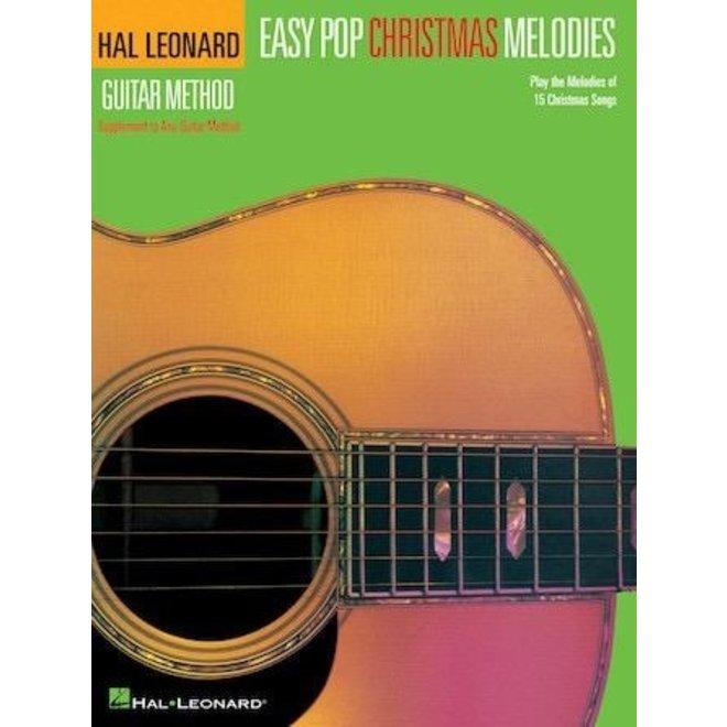 Hal Leonard - Guitar Method, Easy Pop Christmas Melodies