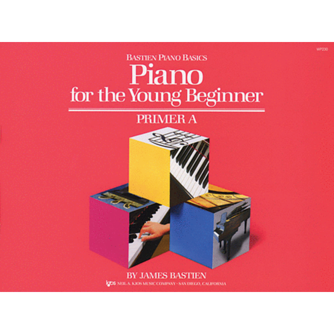 Bastien - Piano For The Young Beginner, Primer A Piano