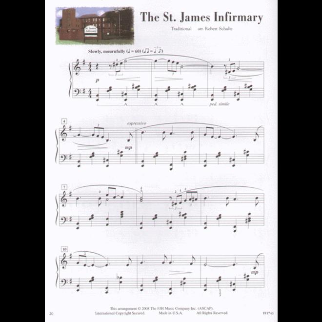 FJH - In Recital, Jazz Blues & Rags, Book 5 w/online audio
