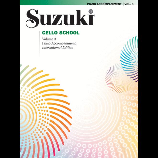 Suzuki - Cello School, Volume 3, Piano Accompaniment