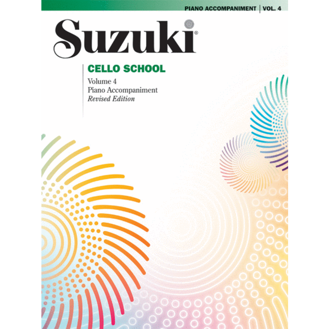 Suzuki - Cello School, Volume 4, Piano Accompaniment