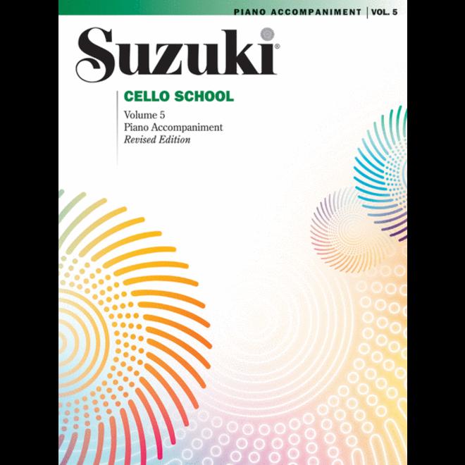 Suzuki - Cello School, Volume 5, Piano Accompaniment