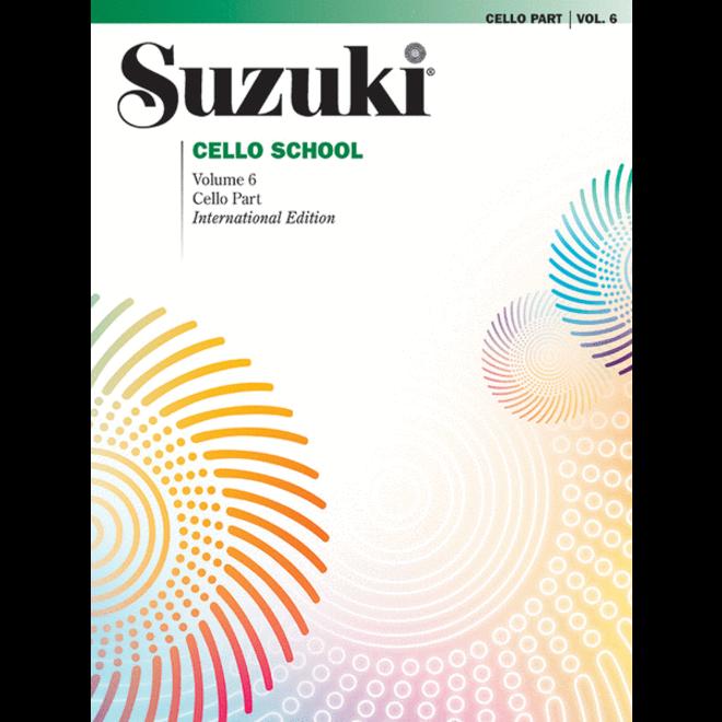 Suzuki - Cello School, Volume 6, Cello Part