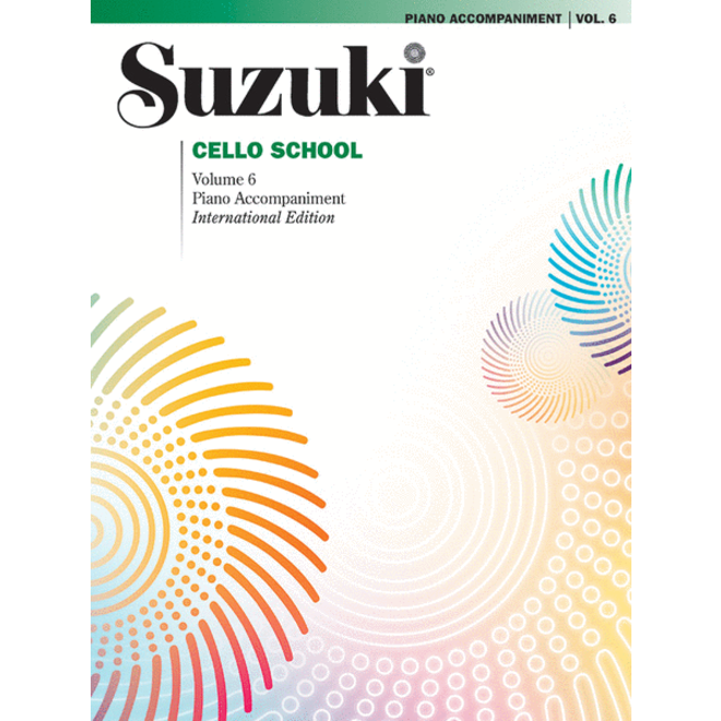 Suzuki - Cello School, Volume 6, Piano Accompaniment