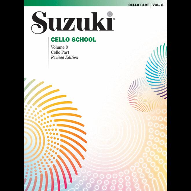 Suzuki - Cello School, Volume 8, Cello Part