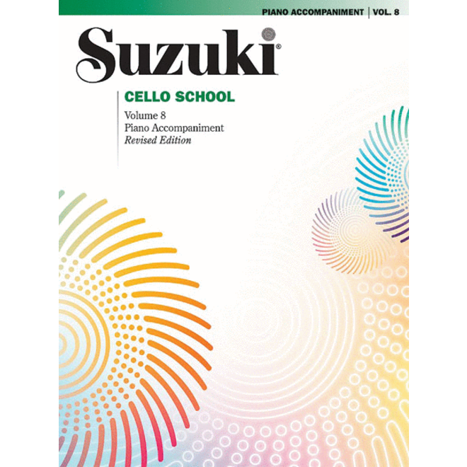 Suzuki - Cello School, Volume 8, Piano Accompaniment