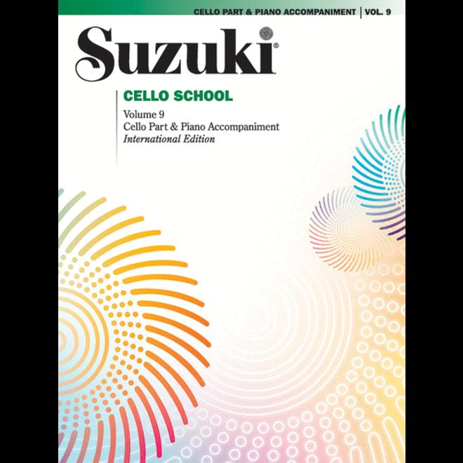 Suzuki - Cello School, Volume 9, Cello Part & Piano Accompaniment