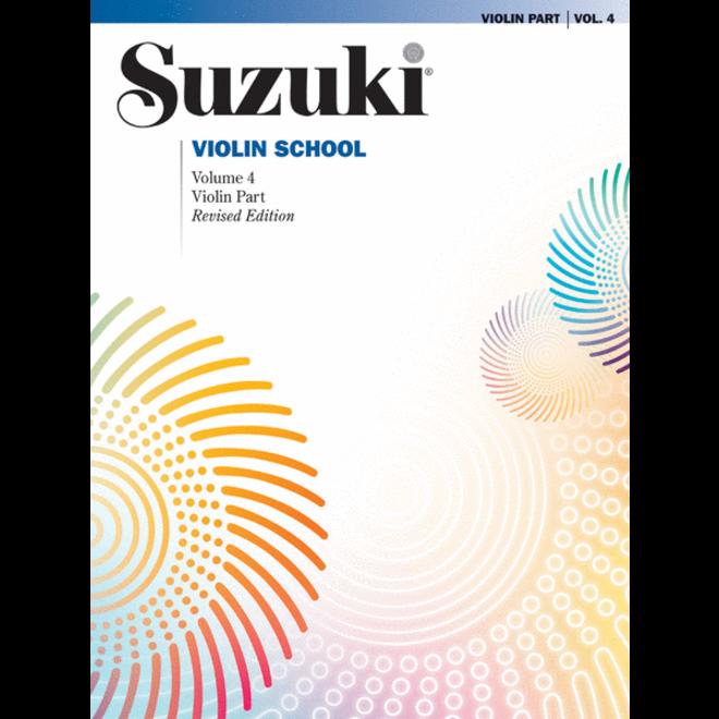 Suzuki - Violin School, Volume 4 - Violin Part