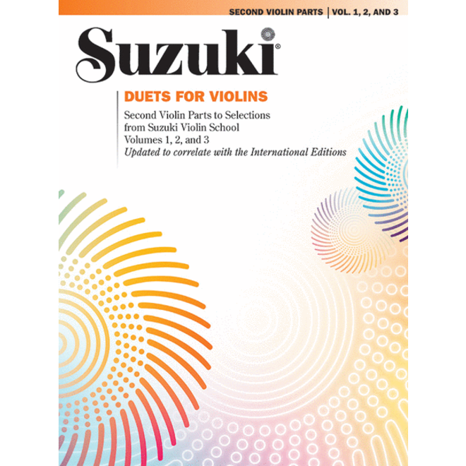 Suzuki - Violin School, Volumes 1-3 Duets - 2nd Violin Parts
