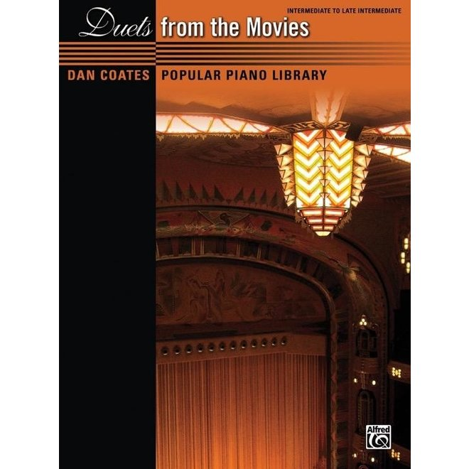 Alfred's - Dan Coates Popular Library: Duets from the Movies