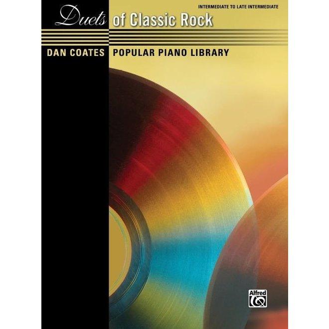 Alfred's - Dan Coates Popular Library: Duets of Classic Rock