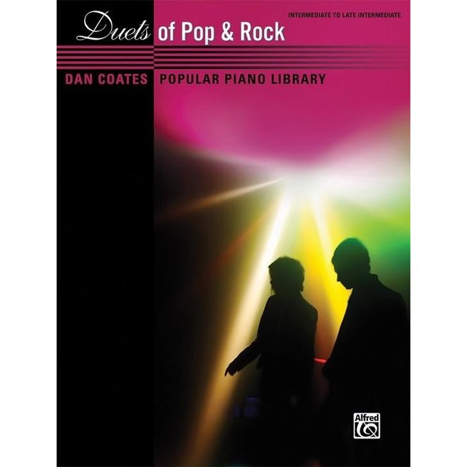 Alfred's - Dan Coates Popular Library: Duets of Pop & Rock