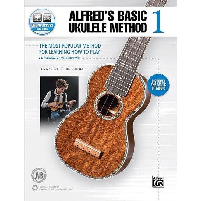 Alfred's - Basic Ukulele Method, Book 1, w/media