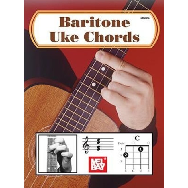 Mel Bay - Baritone Ukulele Chord Chart