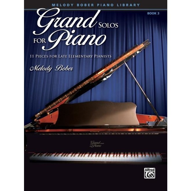 Alfred's - Grand Solos for Piano, Book 3