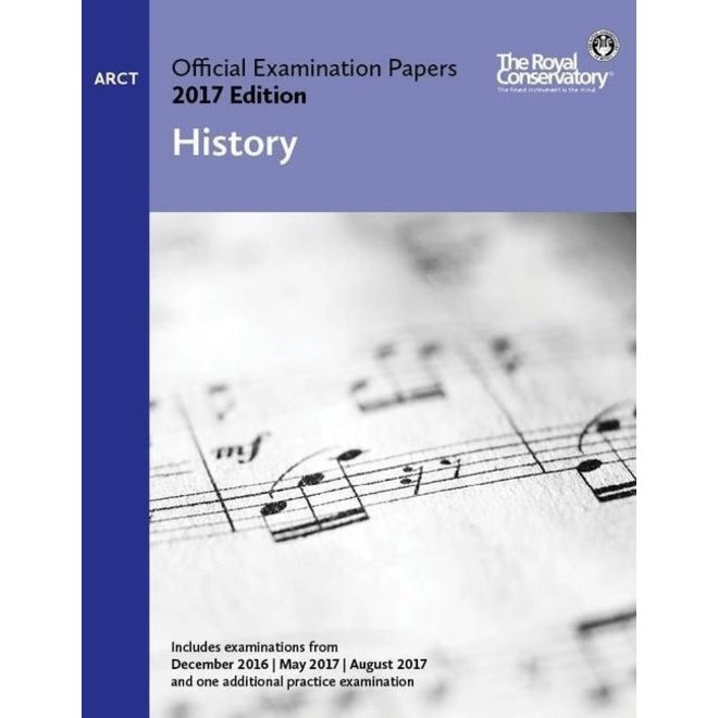 RCM - 2017 Examination Papers, ARCT History