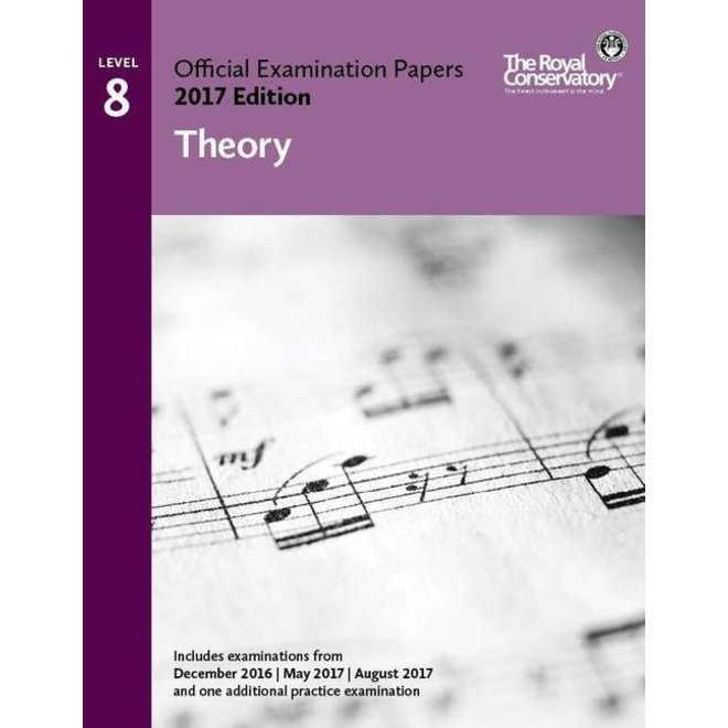 RCM - 2017 Examination Papers, Level 8 Theory