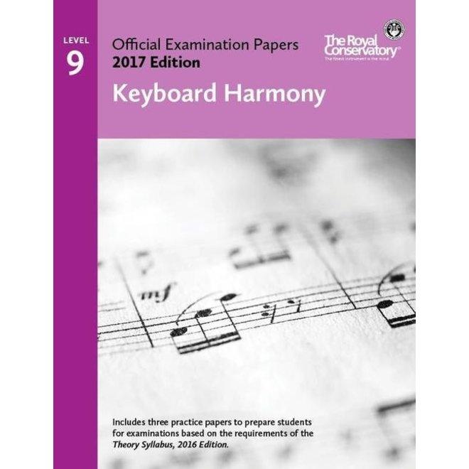 RCM - 2017 Examination Papers, Level 9 Keyboard Harmony