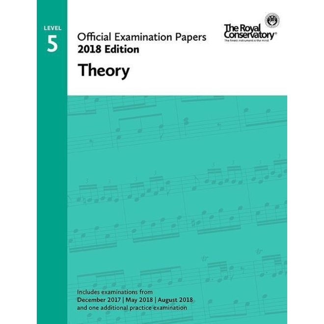 RCM - 2018 Examination Papers, Level 5 Theory