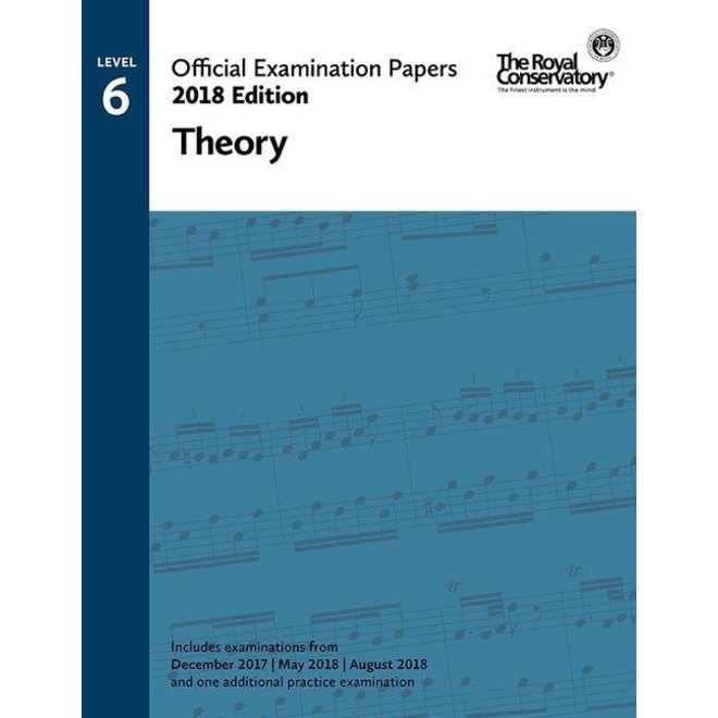RCM - 2018 Examination Papers, Level 6 Theory