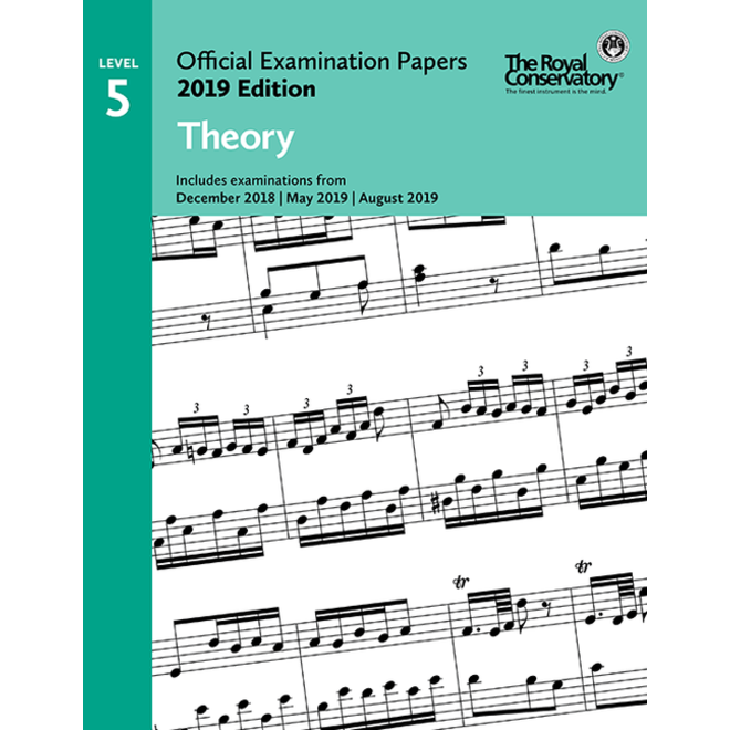 RCM - 2019 Examination Papers, Level 5 Theory