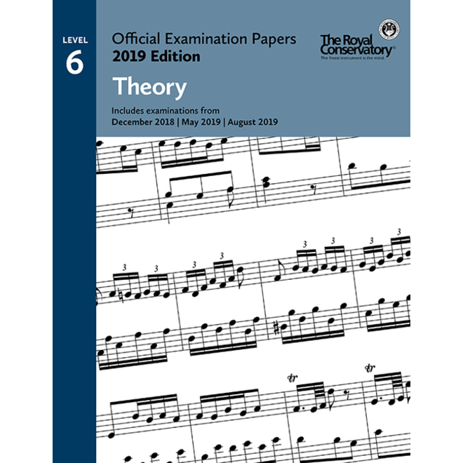 RCM - 2019 Examination Papers, Level 6 Theory