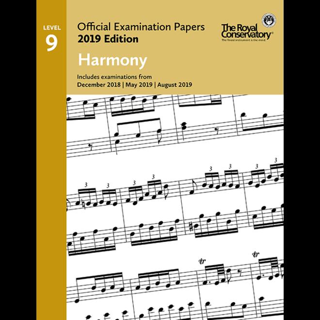 RCM - 2019 Examination Papers, Level 9 Harmony