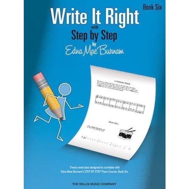 Hal Leonard - Write It Right, Book 6
